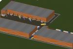 Аренда или продажа строящегося склада класса А 8000м2 на Каширском шоссе (СК Флагман)